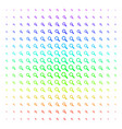 search shape halftone spectrum pattern vector image