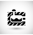 Sewerage tank icon vector image vector image