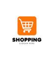 shopping cart logo icon design trolley icon design vector image vector image