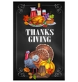 Thanksgiving Day greeting holiday banners vector image vector image