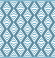 art abstract geometric light white blue pattern vector image vector image