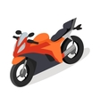 Bike Icon in Isometric Projection vector image vector image
