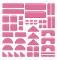 bulding toy blocks for stack tower game for kids vector image vector image