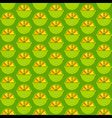 creative lemon pattern design vector image