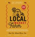 local farm market flyer a4 format farm fresh