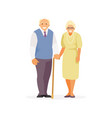 old people vector image vector image