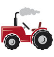 Red tractor vector | Price: 1 Credit (USD $1)