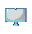 screen electronic equipment technology object vector image vector image