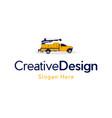 truck crane industrial construction creative logo