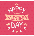 valentine card 2015 3 vector image vector image