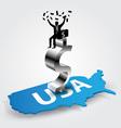 americans rich vector image vector image