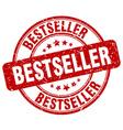 bestseller red grunge round vintage rubber stamp vector image vector image