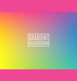 bright colorful background minimal design vector image vector image