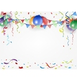 festival and holiday background vector image vector image