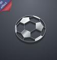 football icon symbol 3D style Trendy modern design vector image
