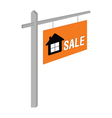 house sale on table vector image
