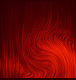 red background abstract cloth or liquid wave vector image vector image