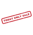 Today Only Sale Rubber Stamp vector image vector image