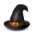 Witch Hat for Halloween Icon for Halloween vector image vector image