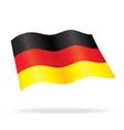 flying german flag of germany silk