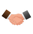 handshake icon contract icon agreement icon vector image vector image