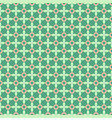 seamless geometric pattern on a green background vector image
