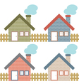 Set Of Country Home Style vector image vector image