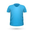 T-shirt Teplate Front Side View vector image vector image