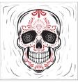Mexican sugar skul vector image
