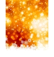 Abstract christmas with snowflake EPS 8 vector image vector image