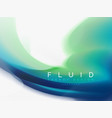 background abstract fluid colors design vector image vector image