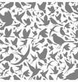 Background of birds3 vector image vector image