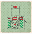 camara frame vector image vector image