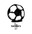 happy fathers day greeting card design for mens vector image