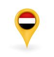 Location Yemen vector image