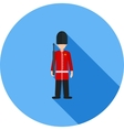 Queens Guard vector image