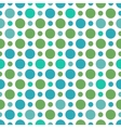 seamless pattern with small and big peas vector image vector image