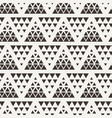 seamless triangle halftone gradient pattern vector image vector image