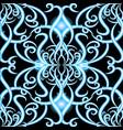 vintage damask floral 3d seamless pattern vector image vector image