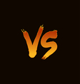 vs vector image vector image