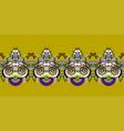 ethnic seamless stripe pattern decorative vector image