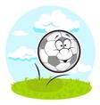 fun football vector image