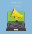 Promotion concept vector image