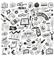 business - icons collection vector image vector image
