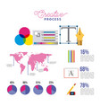 people working process vector image vector image