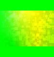 yellow golden green shades glowing various tiles vector image vector image
