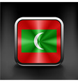 Sovereign state flag of country of Maldives vector image