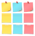 Beauty-Post-it-note-Collection- vector image