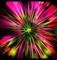 explosion flower design vector image
