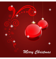 merry christmas 2 vector image vector image
